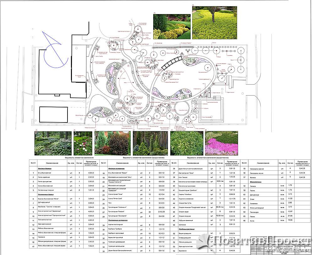 договор на ландшафтный дизайн проект образец - фото 5