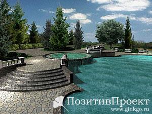 Обустройство водоема в ландшафтном дизайне